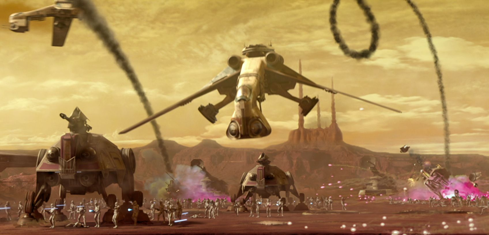 Low Altitude Assault Transport Carrier Star Wars Pictures Star Wars Images Battle Of Geonosis