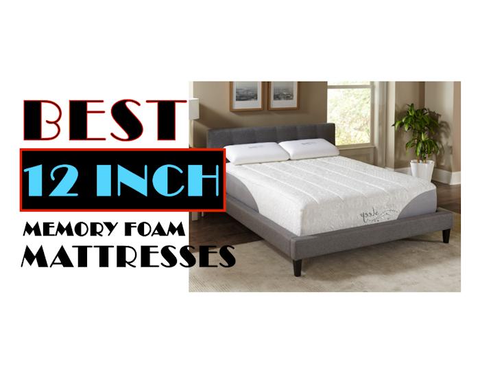 12 Inch Memory Foam Mattress The Most Preferred Mattress Foam