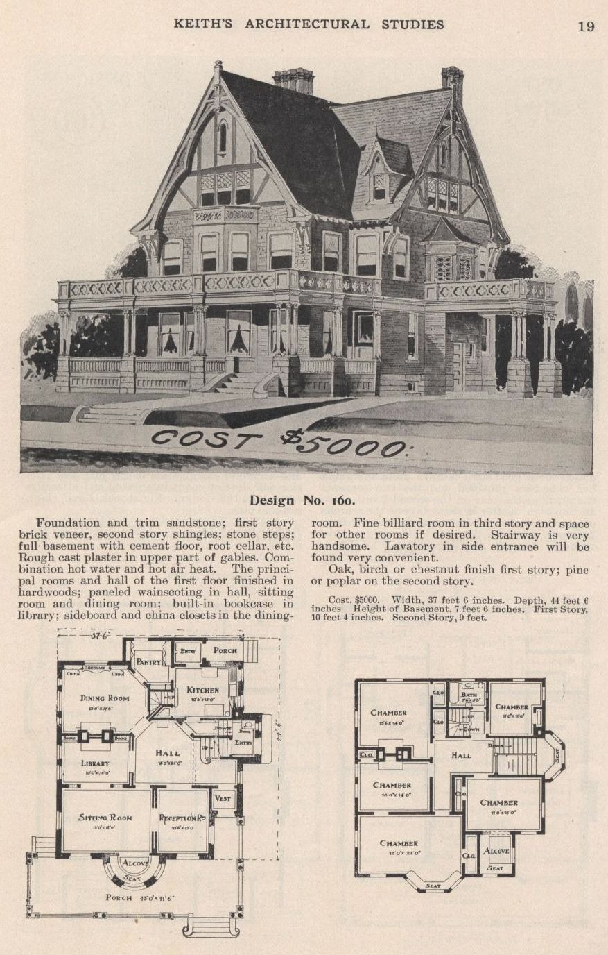 Keithu0027s Architectural Studies, 1905. The Keith Co. From The Association For  Preservation Technology