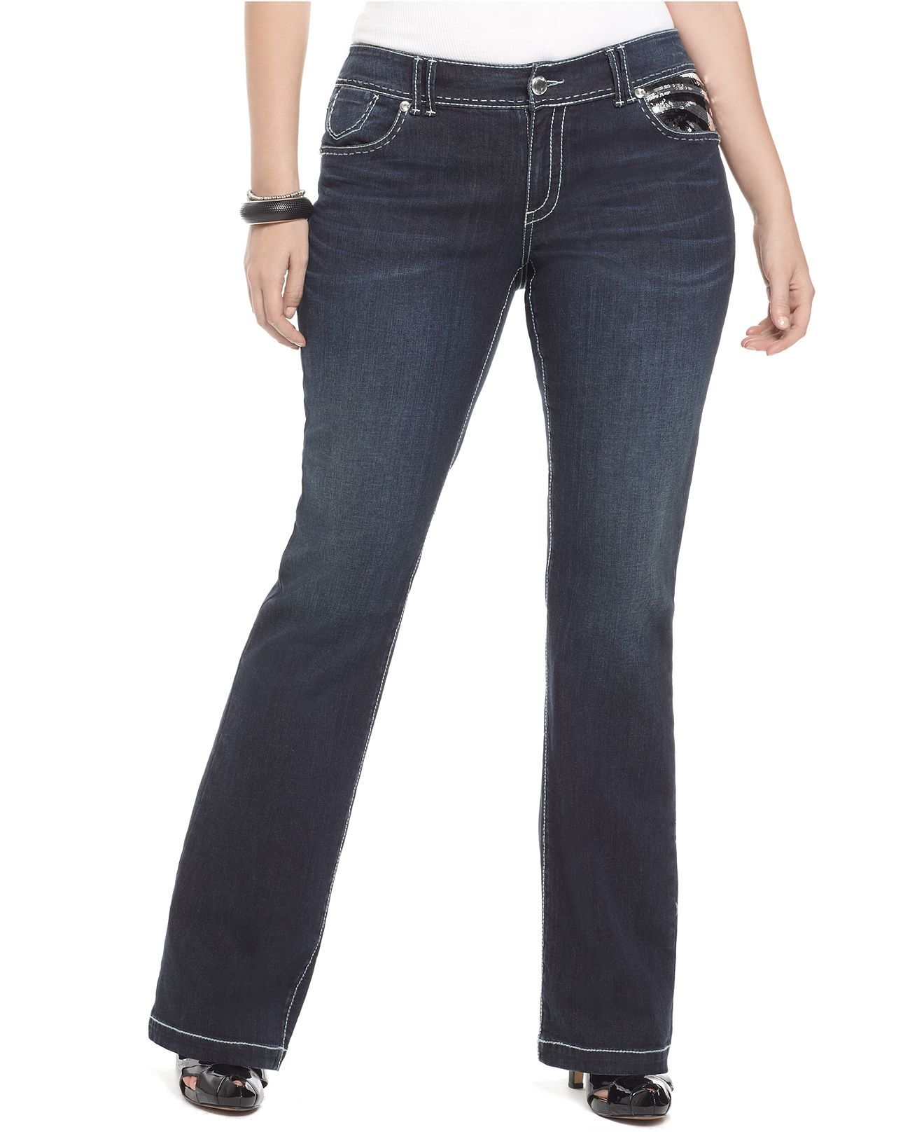 28be2117b63 Seven7 Jeans Plus Size Jeans