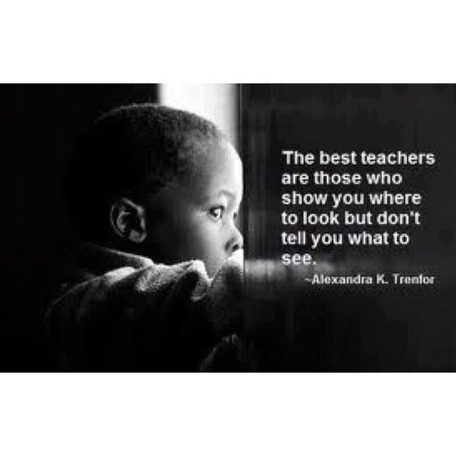 Science Teacher Job Facts: Lovely Teacher Quote...and Very True.