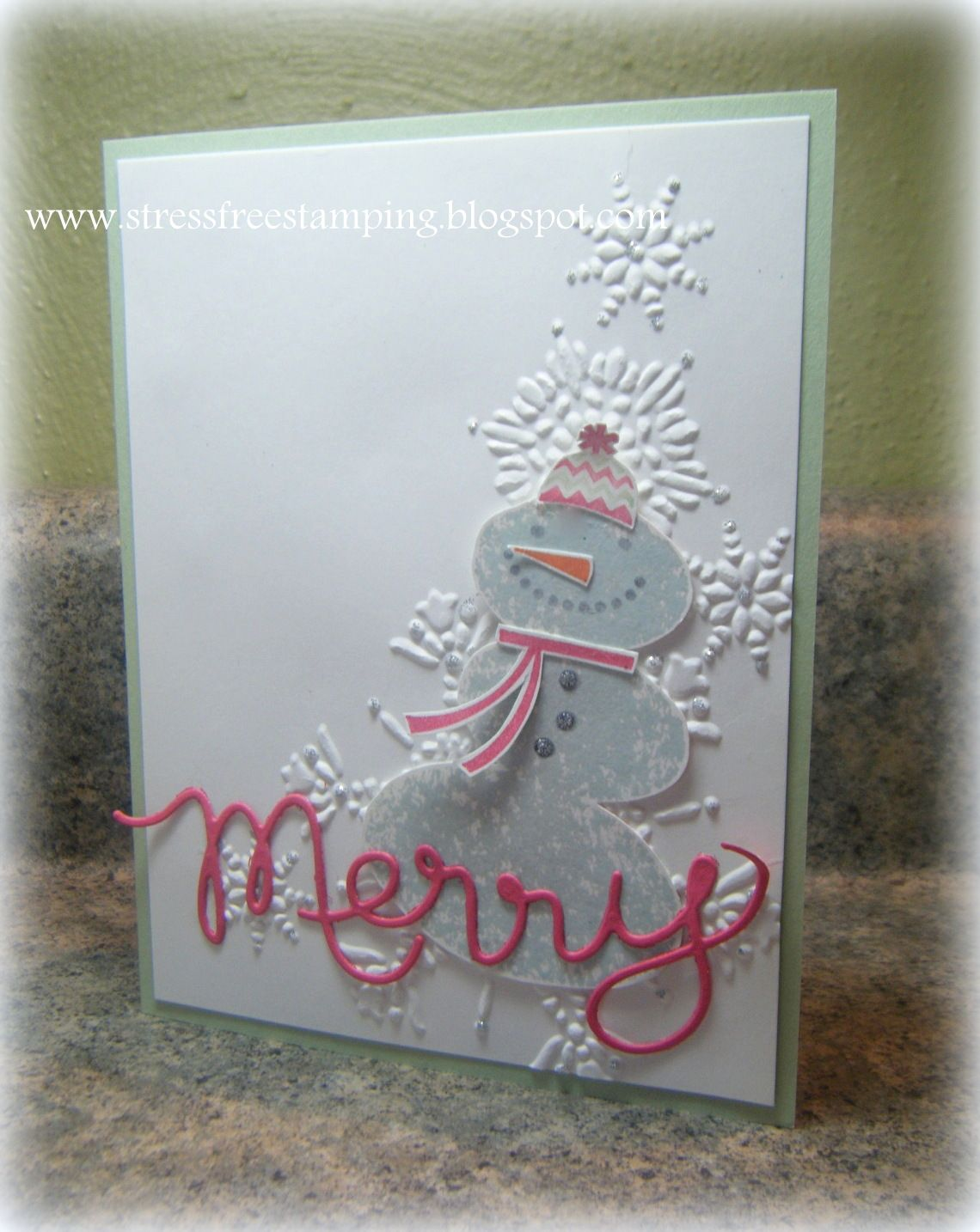 Stress-Free Stamping with Shana: Christmas in August