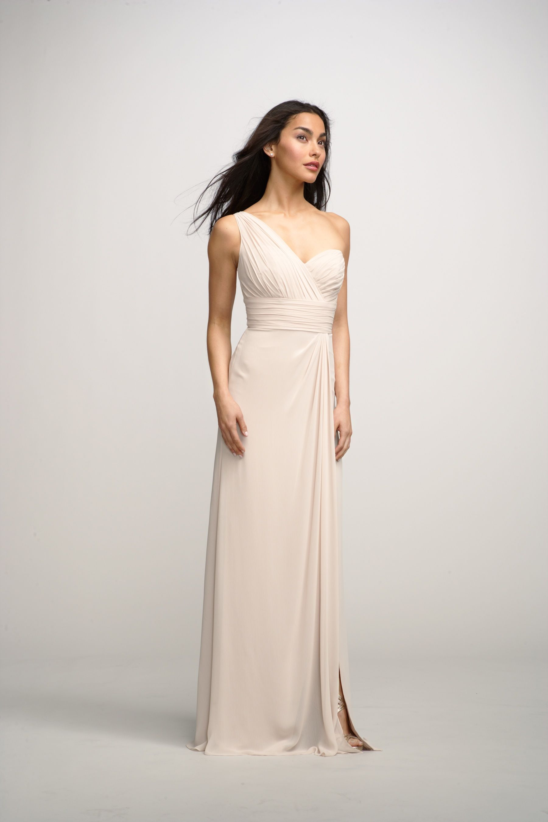 Cream colored vintage wedding dresses  Cream colored bridesmaid dress  Bridesmaid ideas  Pinterest