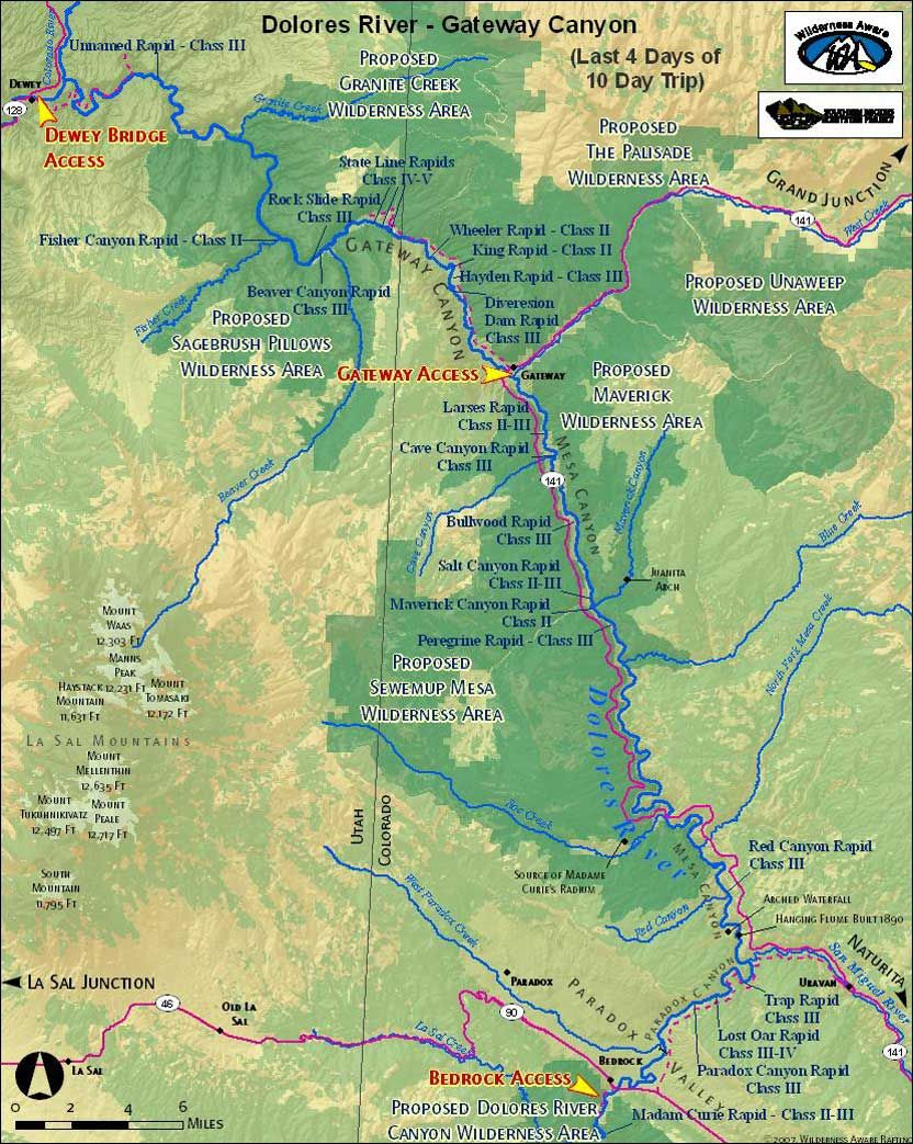 Gateway Colorado Map gateway colorado | Dolores River Map Gateway Canyon | Colorado
