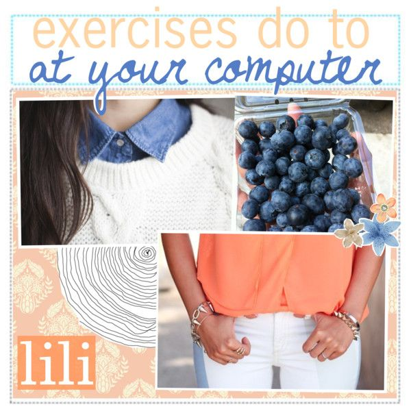 Exercises to do at Your Computer