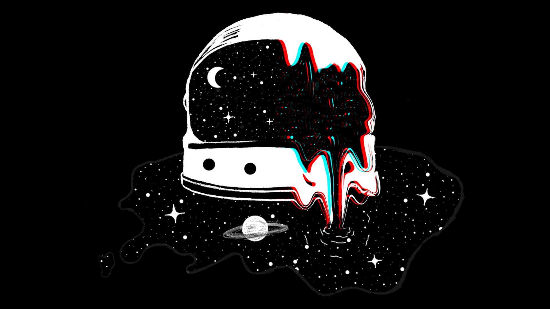 Astronaut Helmet Space Leak Space Drawings Space Art Astronaut Drawing