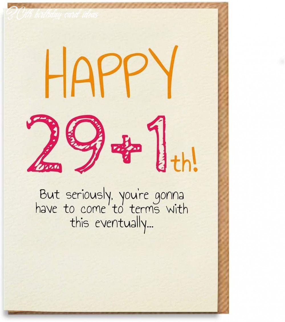 7 30th Birthday Card Ideas Funny 30th Birthday Cards 30th Birthday Cards 30th Birthday Funny