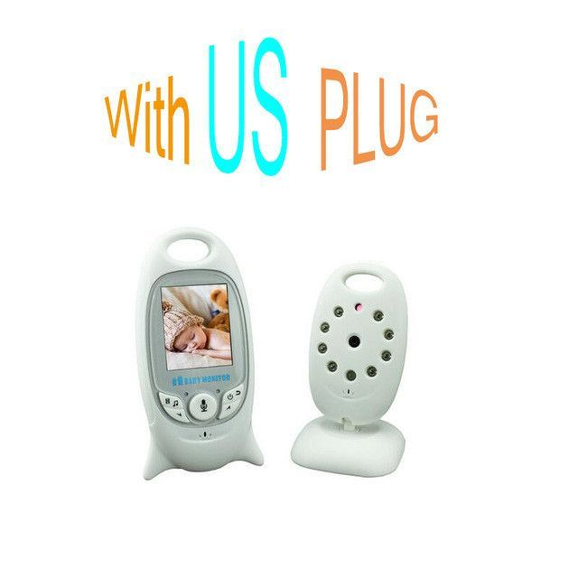 Color Video Wireless baby monitor with camera