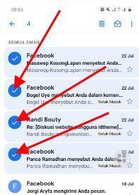 hapus pesan gmail