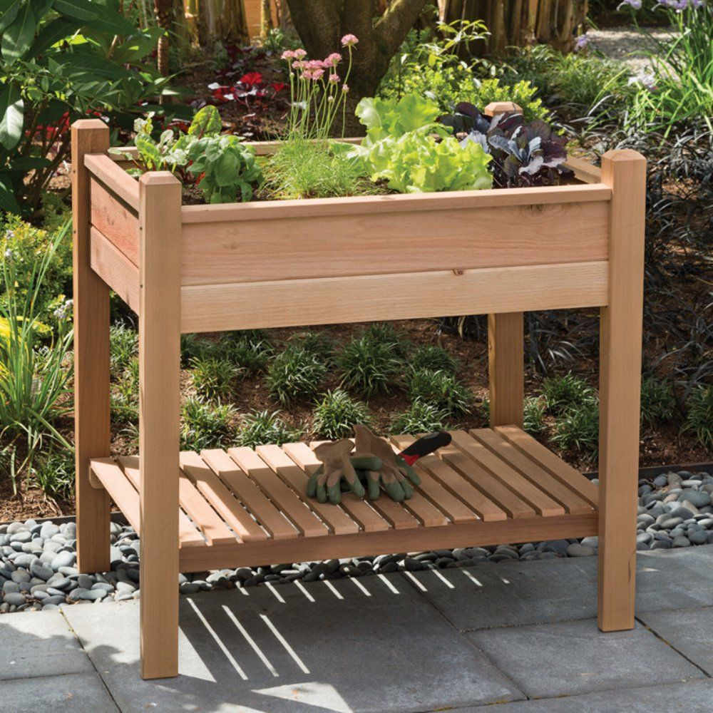 Perfect for keeping herbs, flowers, or veggies on a porch