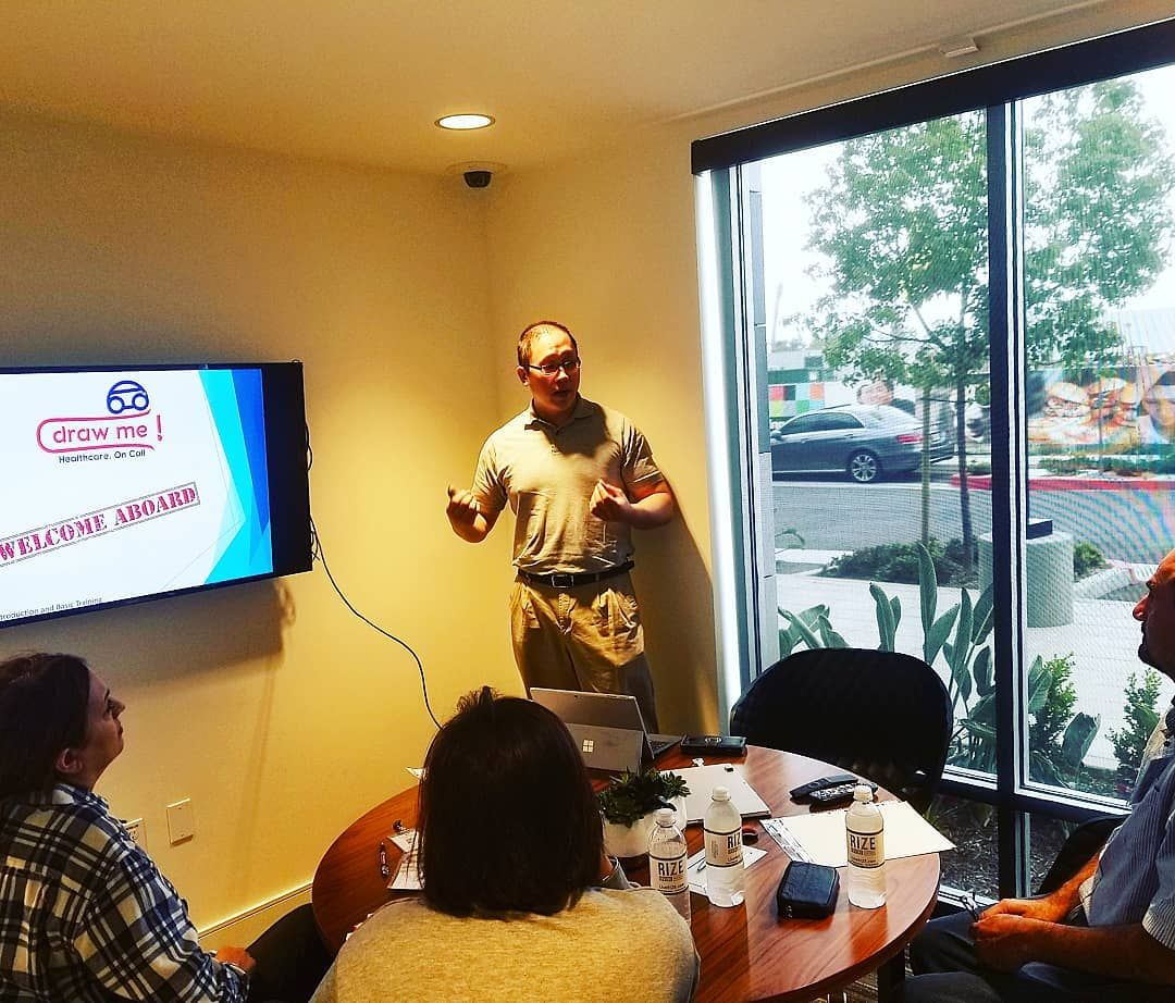 First Staff Training And Meeting With Our Chief Operating Officer
