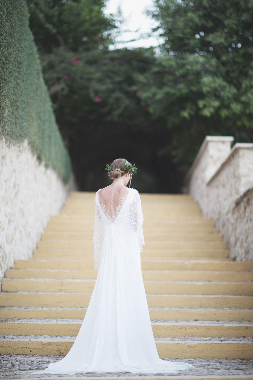 House of moirai melissa dress bride bohemian wedding