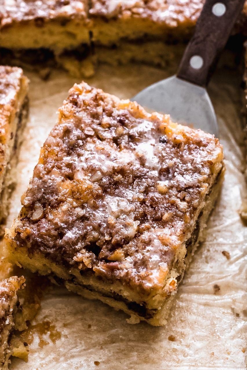 Sour Cream Coffee Cake With Cinnamon Streusel Recipe The Feedfeed In 2020 Coffee Cake Easy Coffee Cake Coffee Cake Recipes