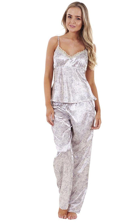 Ensemble Pyjama Short Satin Femme
