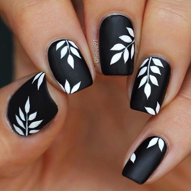 45 Cool Matte Nail Designs to Copy in 2019