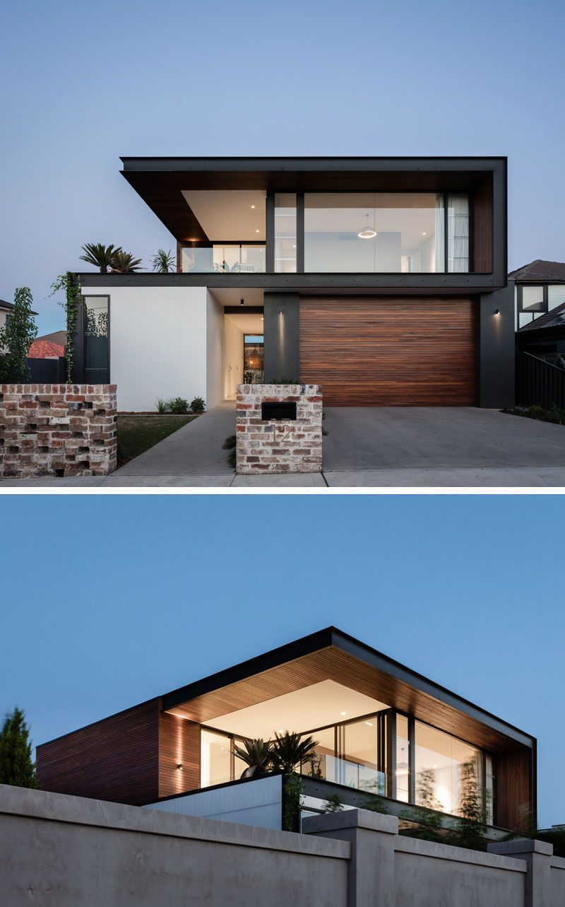 Facade House Small Modern Home Cool House Designs: The Preston House By Lot 1 Design And Sydesign
