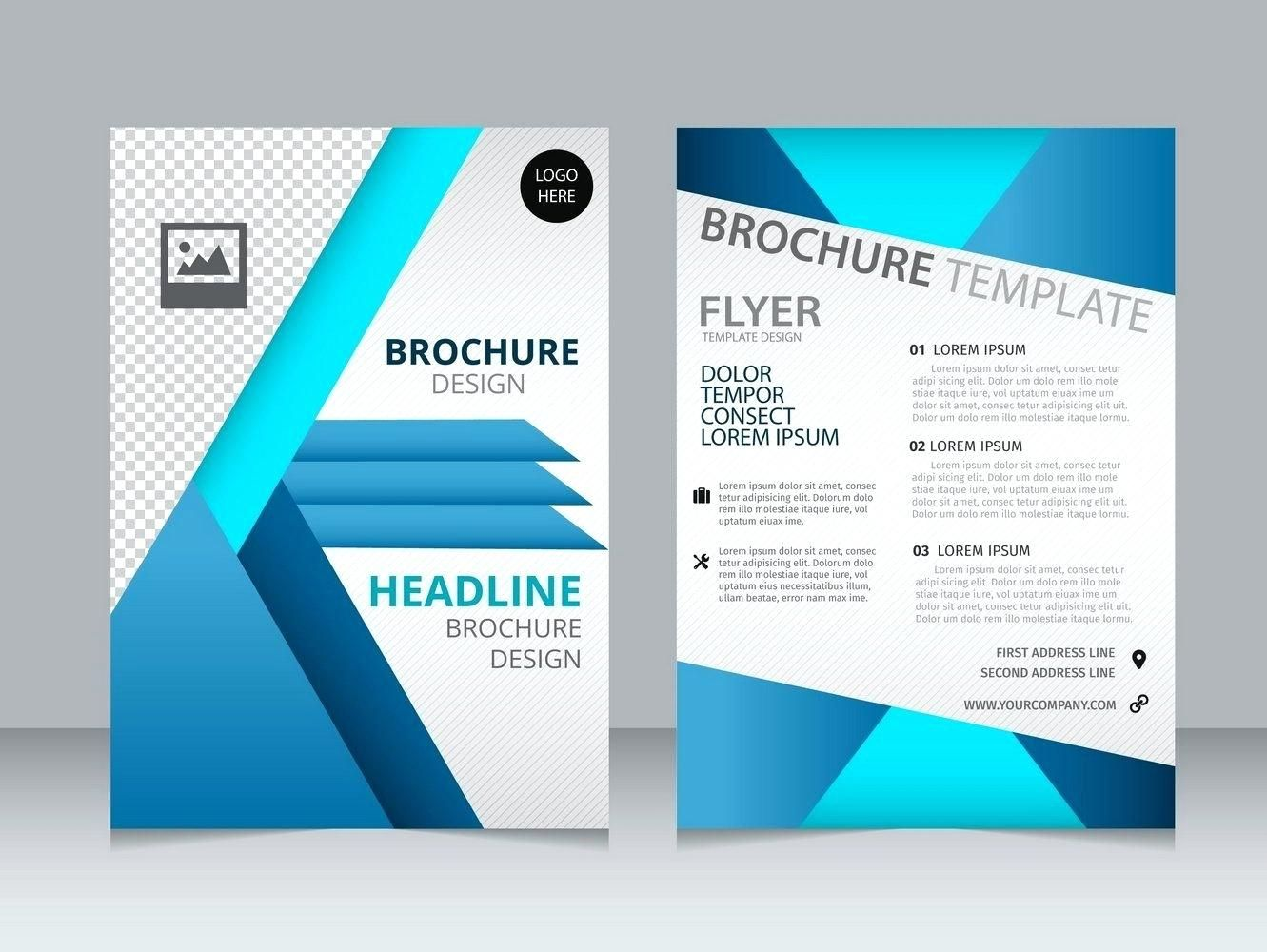 The Astounding Free Brochure Template Downloads For Word Templates Intended For Free Free Brochure Template Brochure Template Brochure Templates Free Download Microsoft word brochure template download