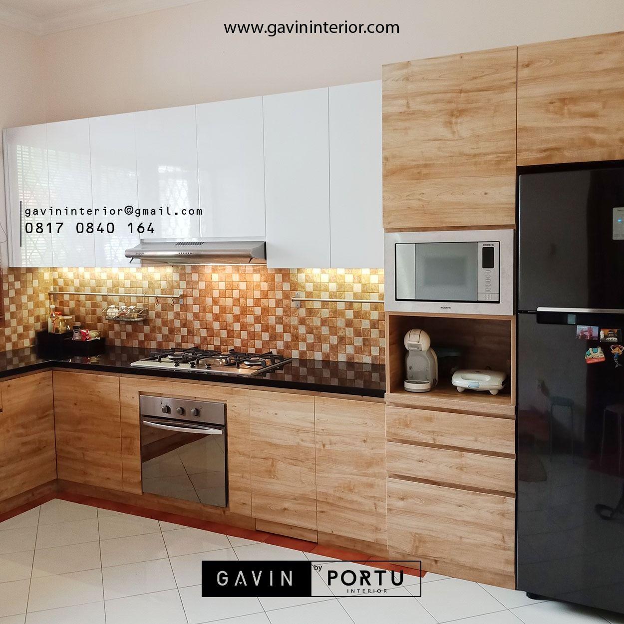 Contoh kitchen set minimalis milik klien kami ini bisa menjadi bahan referensi anda dalam memilih