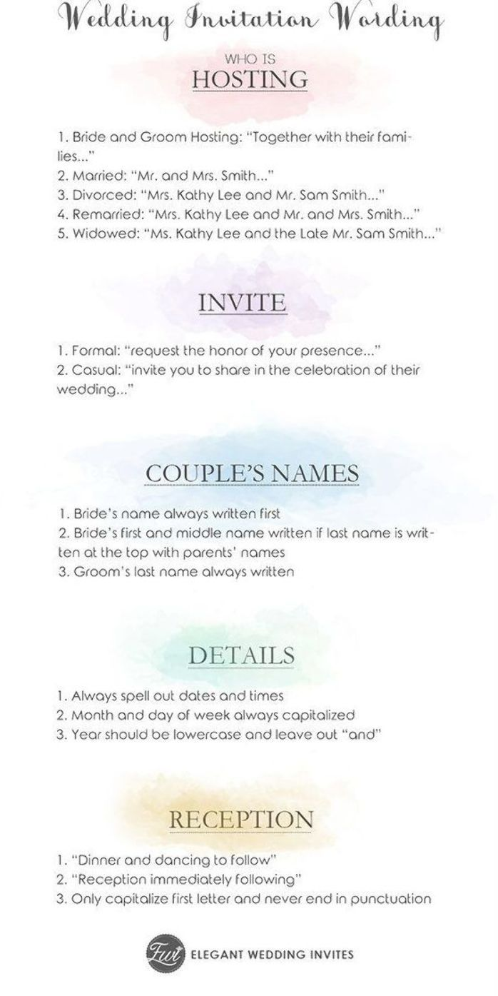 Wedding Invitations Could Seem Simple And Easy But Every Little Detail With It Co Simple Wedding Invitations Simple Wedding Invitation Wording Simple Weddings