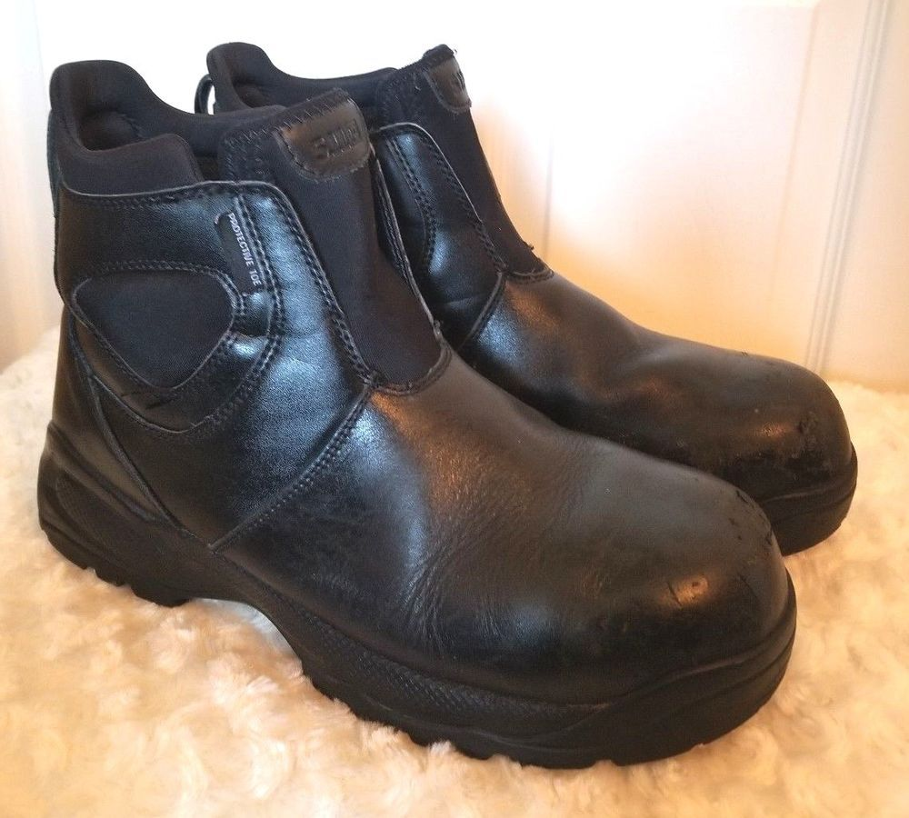 06ad027ebcc 5.11 Tactical Company Mens Size 9M Black Leather CST Boot 2.0 Safety ...
