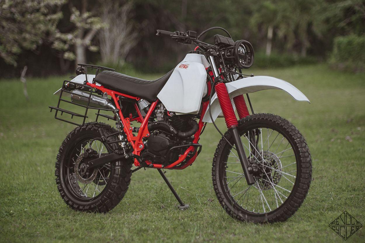 Xarghhh Honda Xr200 Ute By Revolt Cycles Adventure Bike Motorcycles Honda Tracker Motorcycle