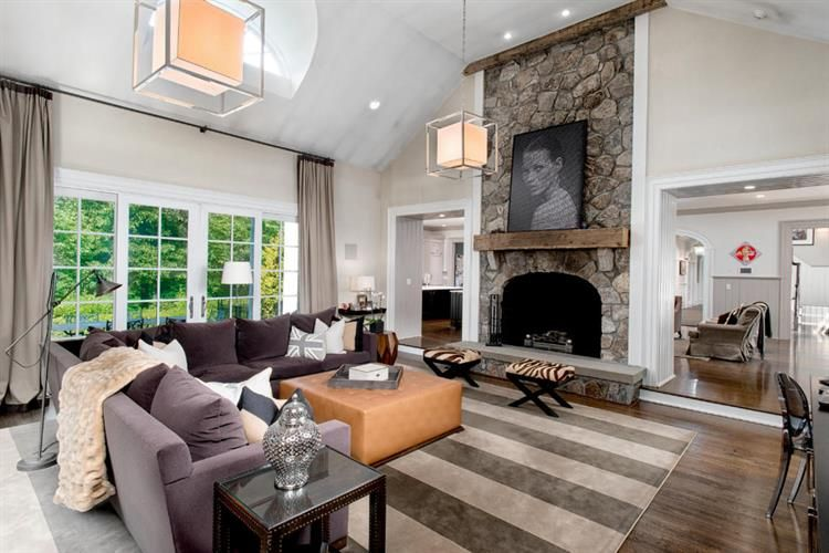 $6,995,000 - View 49 photos of this 6 Beds 7.2 Baths Colonial home built in 1998. EXTRAORDINARY STONE & SHINGLE GEORGIAN…