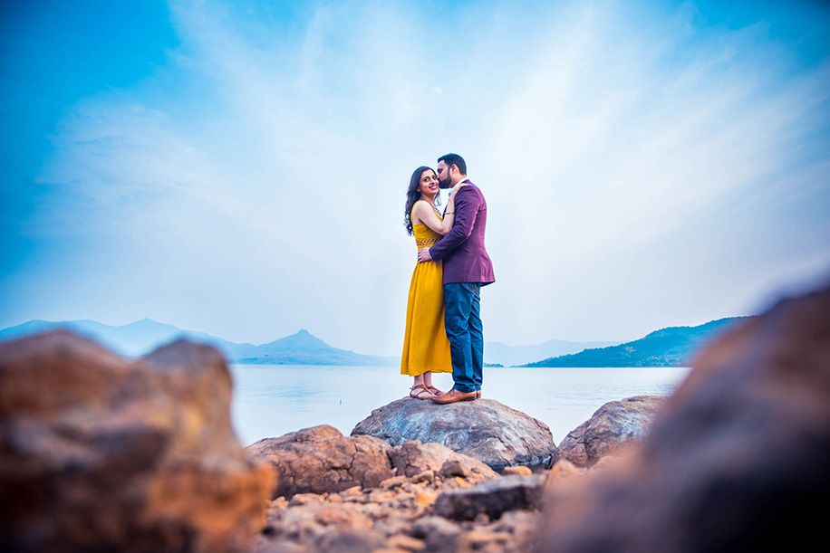 pre wedding photoshoot location malaysia%0A A pre wedding at Pavana Lake  Lonavla captured by What Knot