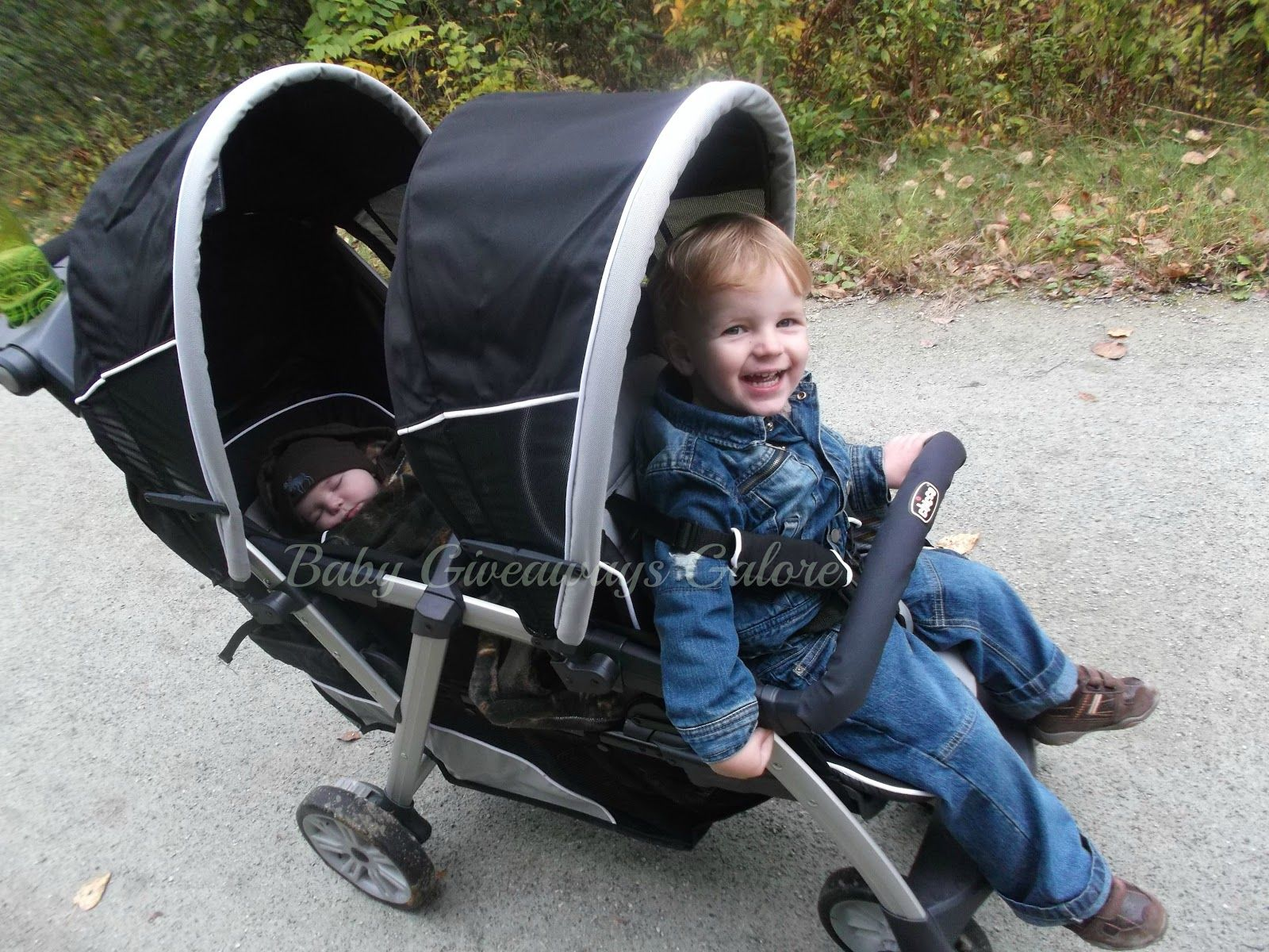 Chicco Cortina To her Double Stroller