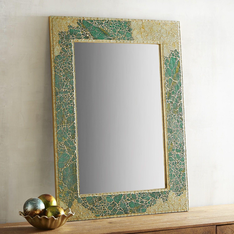 30 x 40 mirror. Turquoise Mosaic 30x40 Mirror 30 X 40