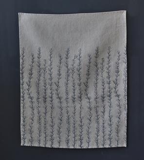 Sea Grapes Linen Kitchen Towel