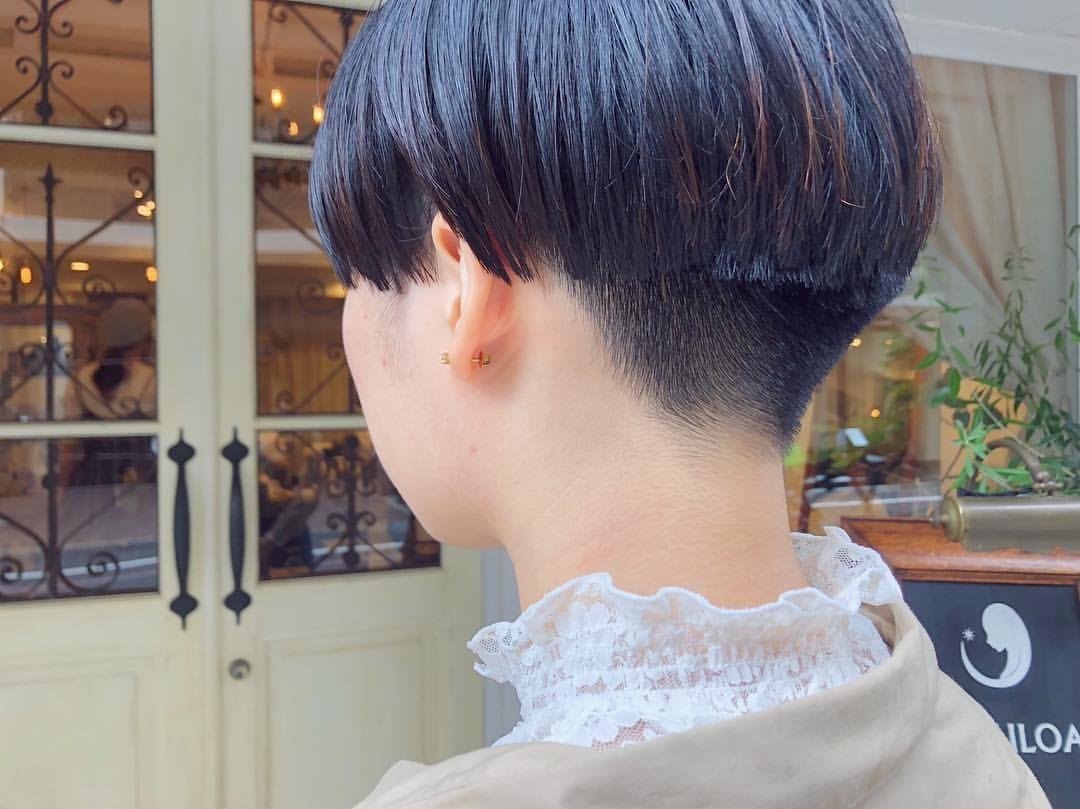 Ayumiさんはinstagramを利用しています 刈り上げマッシュ女子