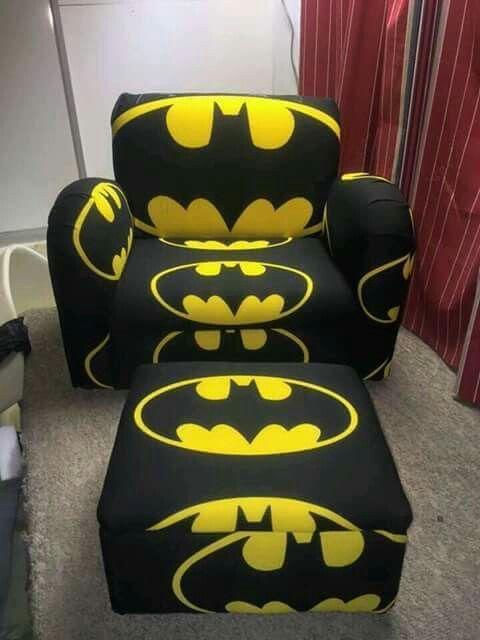 Batman Chair And Ottoman Batman In 2019 Batman