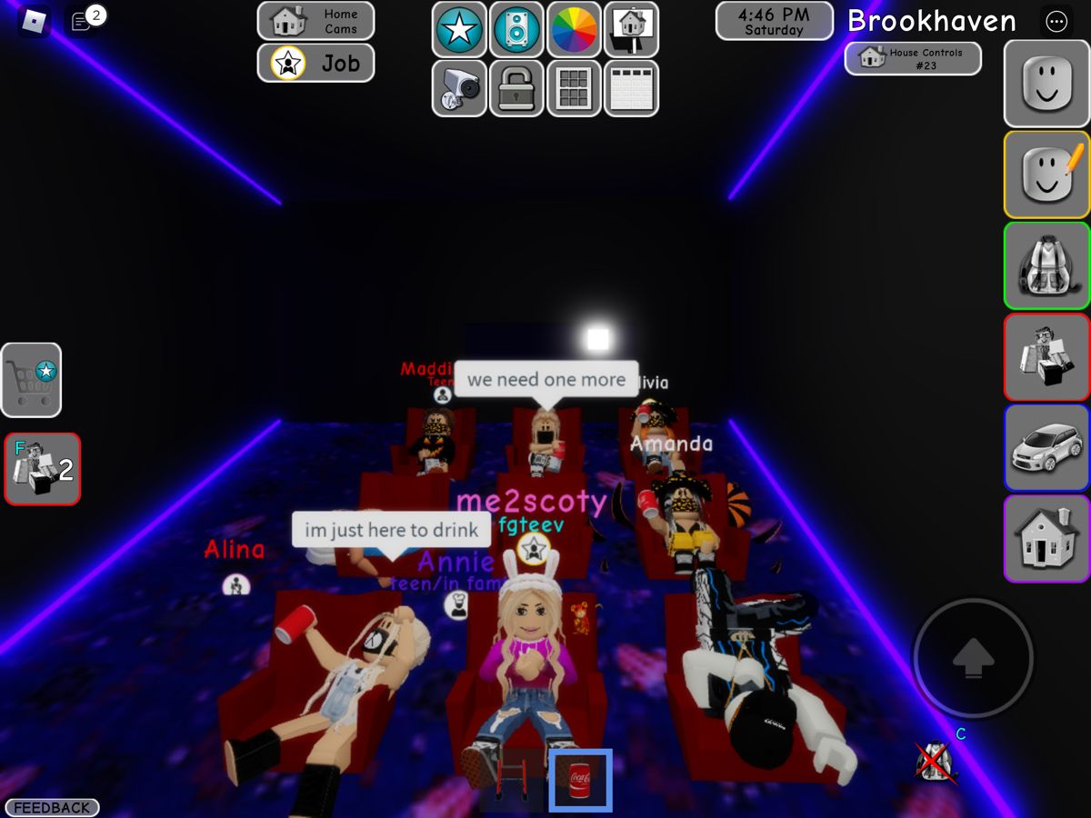 This Is Just Half Of My Girls Gang Girlspower Brookhaven Roblox Job