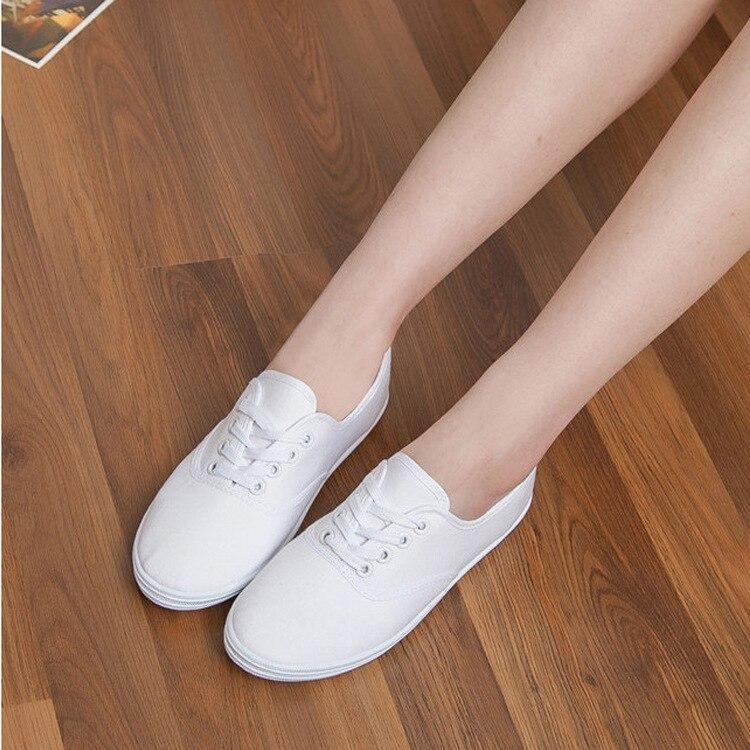 Women canvas shoes 2020 new fashion Comfortable light flat shoes woman 12 colors women flat shoes ladies shoes
