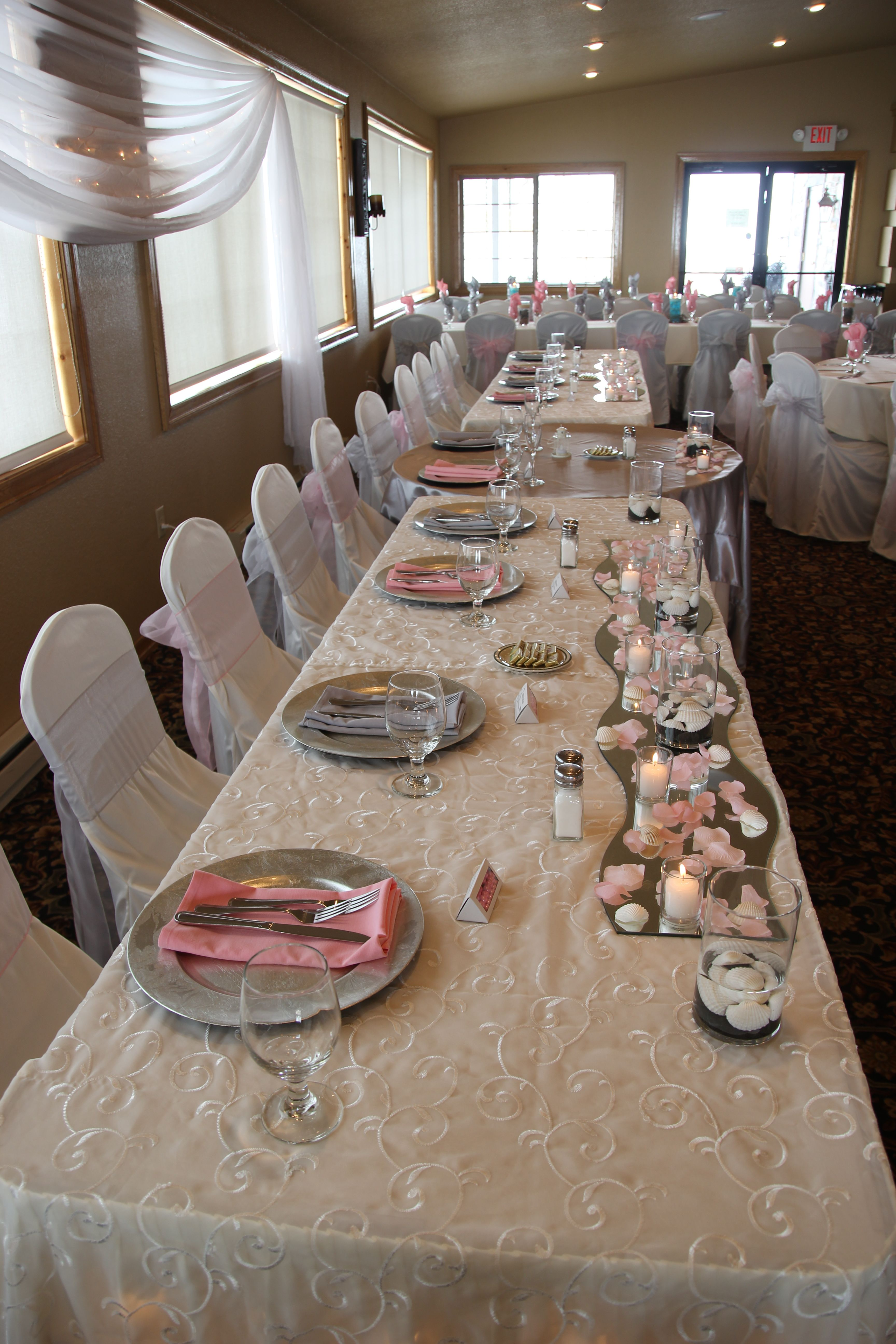 Chair Covers For Weddings Pinterest Oxblood Leather Wing Blush And Lace Designerweddings Head Tables By Designer Specializes In Full Service Custom Wedding Event Decorating Ceiling Draping Linens Lighing Rentals