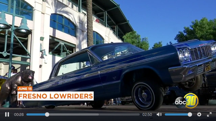 Low And Slow Was The Name Of The Game At Chukchansi Park Fresno Grizzlies Fans Were Treated To Lowriders Music And Fun Fresno Video Capture Fresno Grizzlies