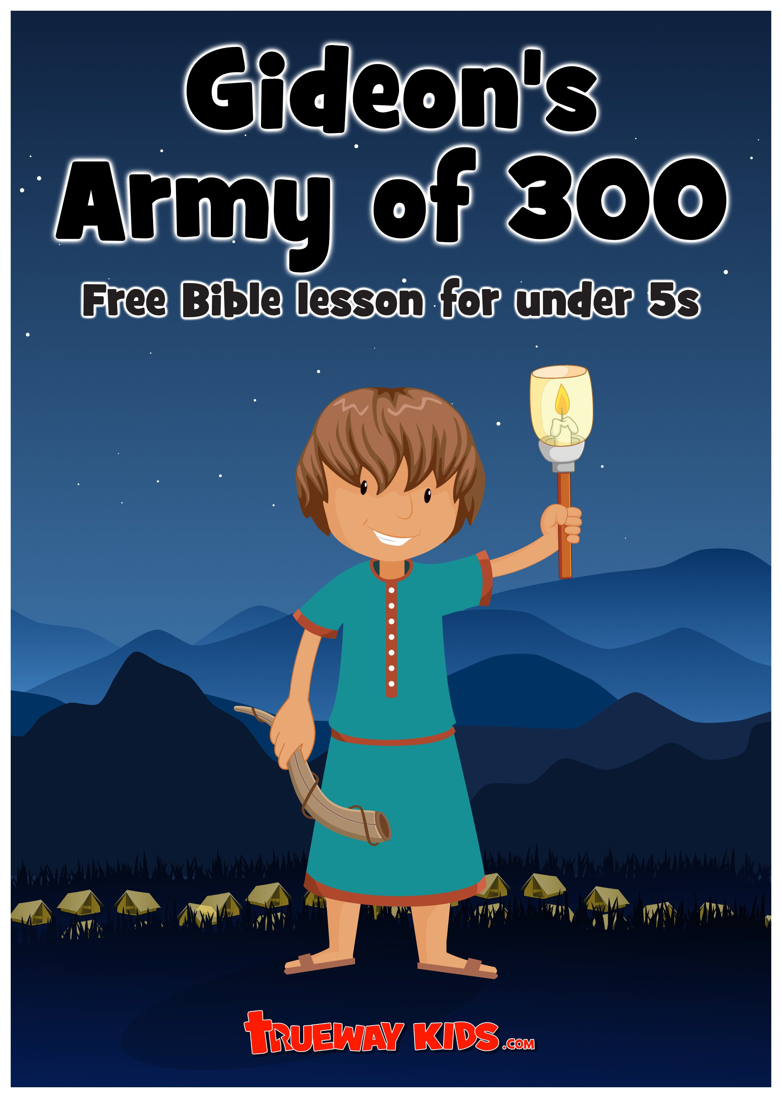 Download And Print This Free Gideon Bible Lesson For
