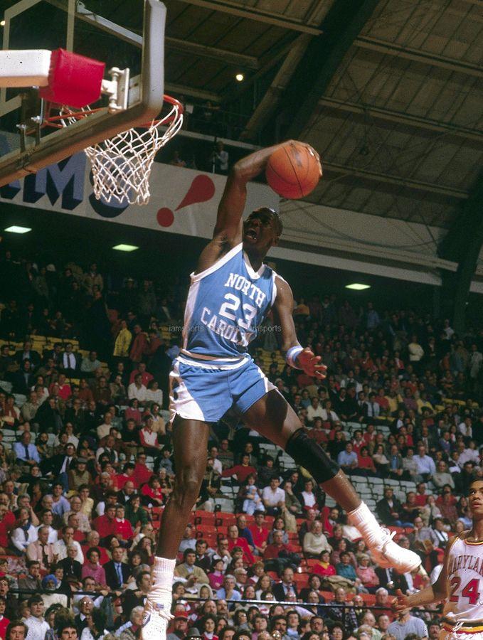 c3c99769b0d Michael Jordan, UNC vs. Maryland   Michael Jordan   Michael jordan ...