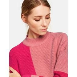 Photo of Pullover im Streifen-Design Pink TaifunTaifun
