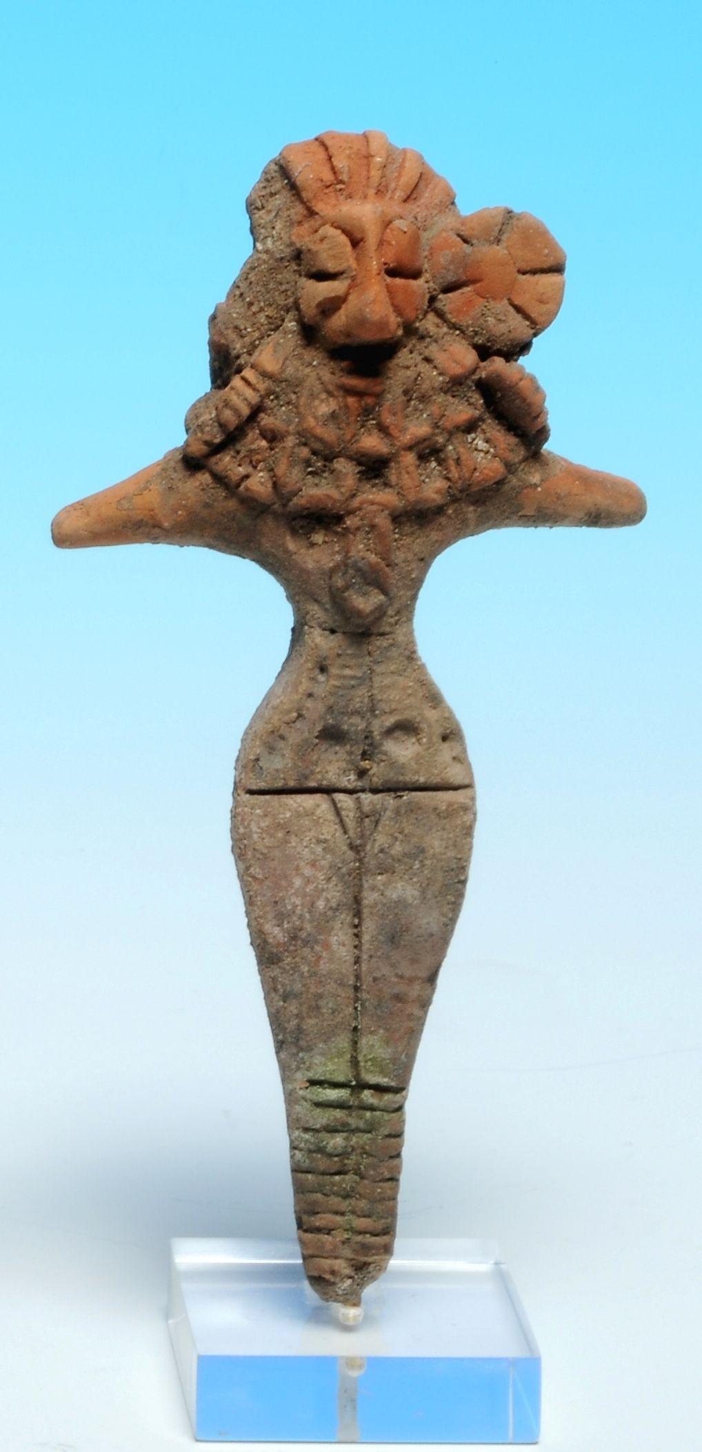 A Terracotta Figurine Balucistan 3rd Millennium Bc Arte Prehistorico Arte Antiguo Arte Tribal