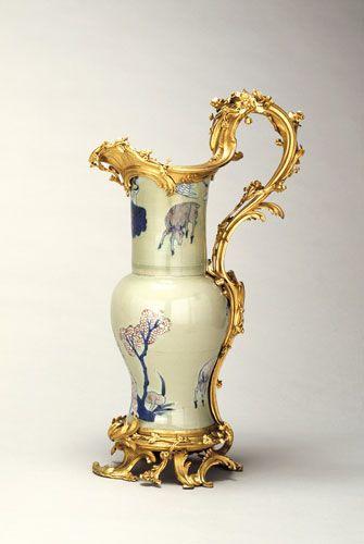 Mounted Porcelain Ewer China 1736 95
