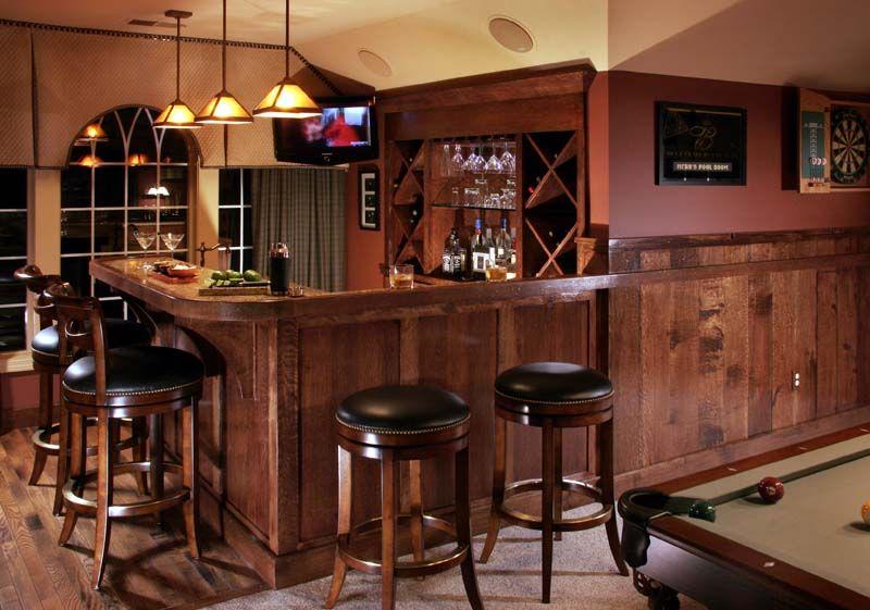 Amazing Game Room Bar Designs Images - Best idea home design ...