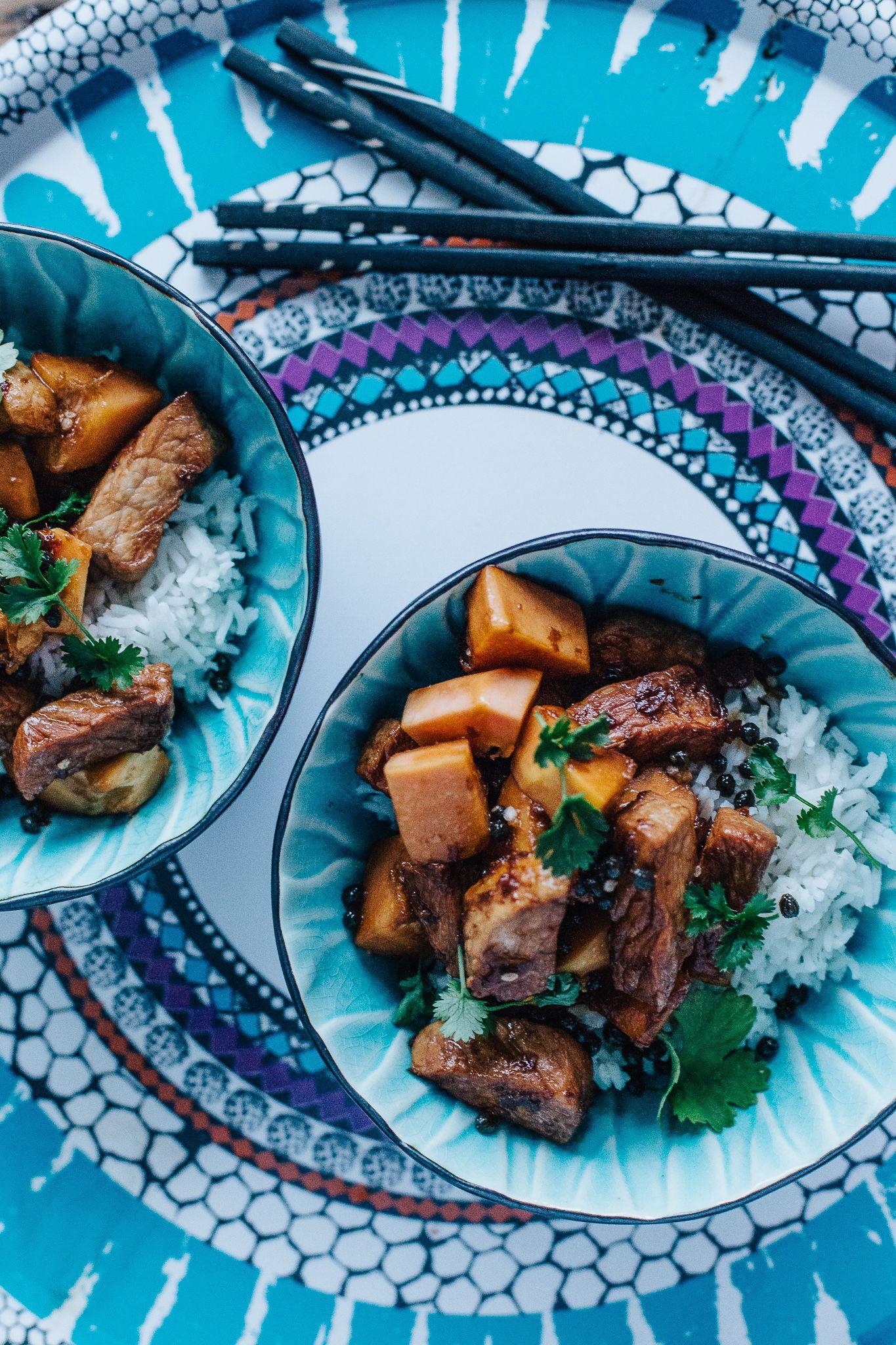 Sesonkireseotit: thai papaija-possuwok