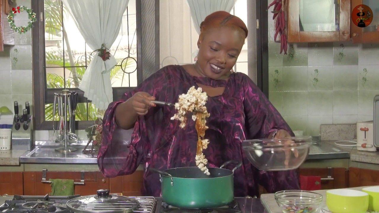 Festive popcorn nigerian food african food west