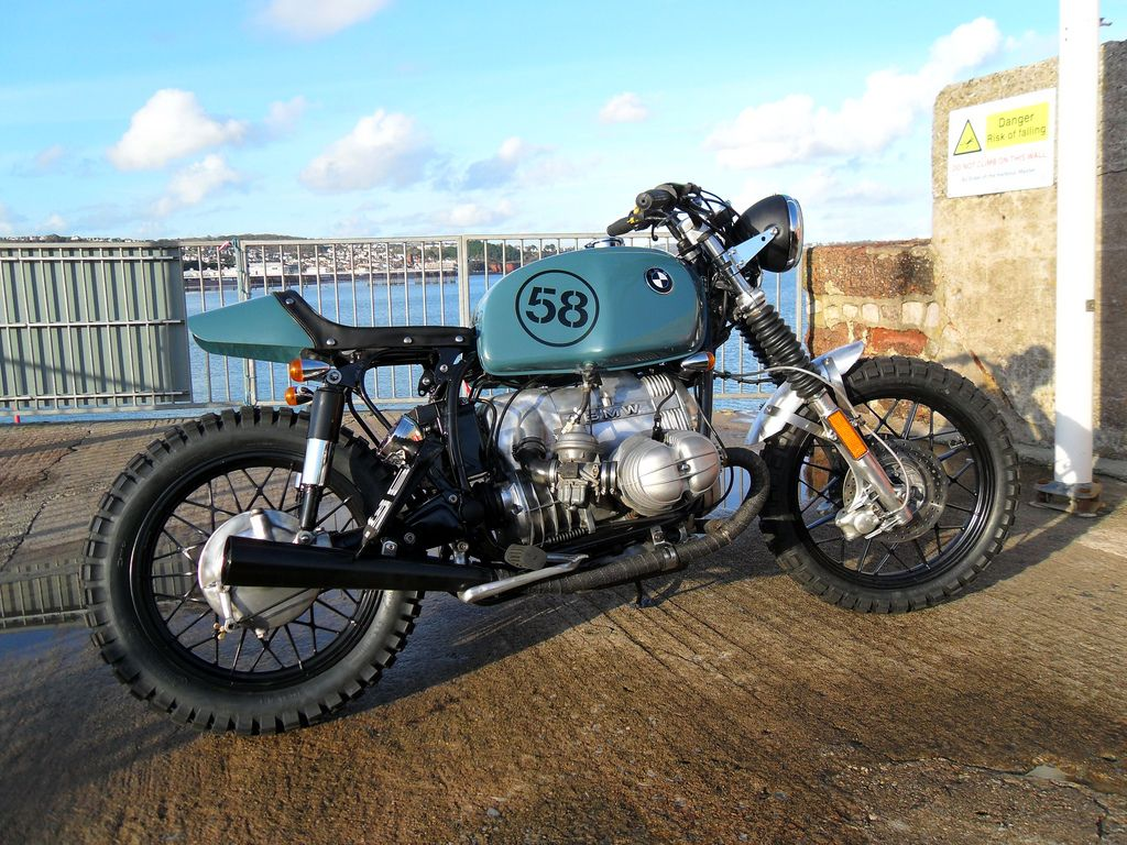 "motographite: BMW R100 SCRAMBLER ""SPIDER"" by KEVILS SPEED SHOP"