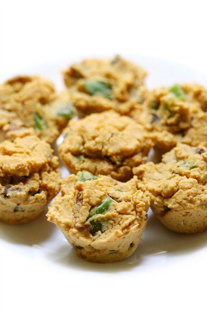 Mini Chickpea Flour Vegan Frittata Bites (Gluten-Free ...