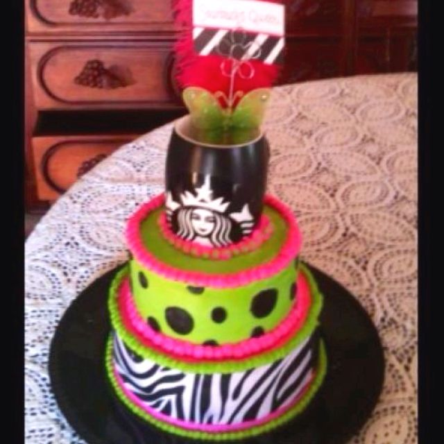 Starbucks Queen Kays Custom Cake Designs Kays Custom Cake