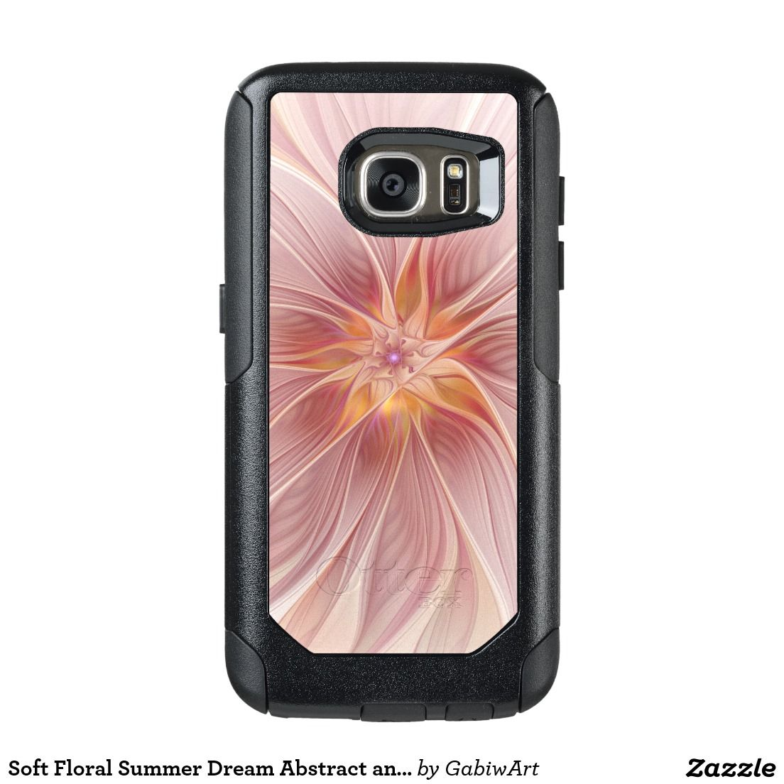 Soft Floral Summer Dream Abstract and Modern Art OtterBox Samsung Galaxy S7 Case