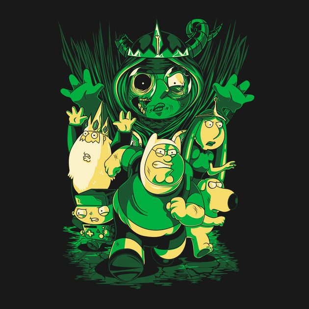 RETURN OF THE LICH QUEEN T-Shirt $11 Family Guy tee at teeVillain today only!
