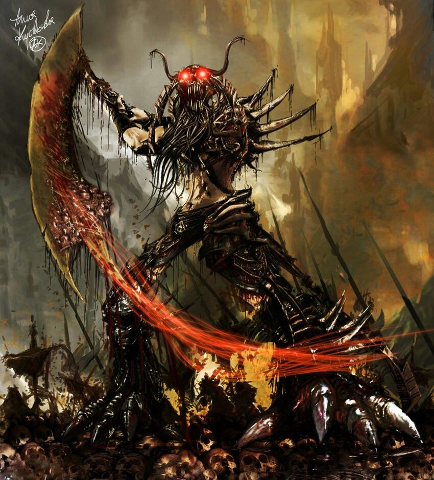 A Daemon of Nurgle, Chaos god of pestilence and disease ...
